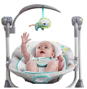 silla balancín bebé